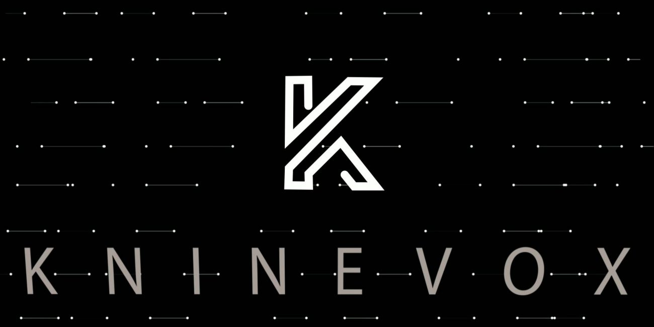 kninevox logo animation